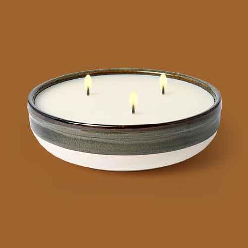 Citornella Ceramic Clay 3 Wick Candle Glossy Gray - Threshold™ designed with Studio McGee, 30oz 5 Wick Candle with Cement Jar Gray - Project 62™, Citornella Ceramic Clay 1 Wick Candle Glossy Gray - Threshold™ designed with Studio McGee, 14.8oz Candle with Cement Jar White - Project 62™