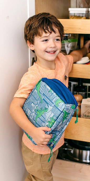 Lunch Bag Dino Blue - Cat & Jack™