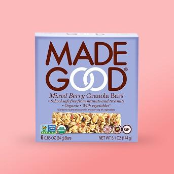 MadeGood Mixed Berry Granola Bars -6ct
