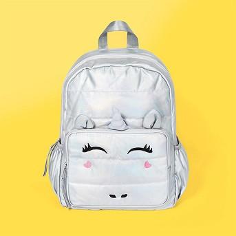 Girls' Unicorn Backpack - Cat & Jack™ Silver