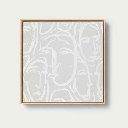 "20"" x 20"" Framed Canvas Pink - Opalhouse™"