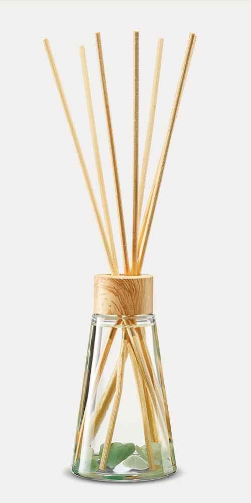 2.7 fl oz Oil Diffuser with Aventurine - Aloe & Bergamot - Project 62™