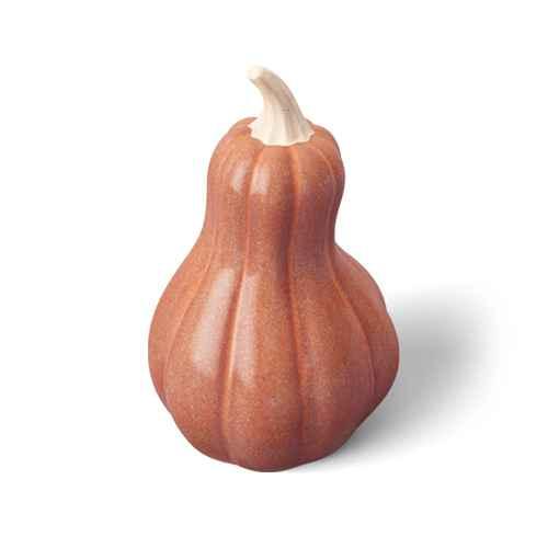 Medium Ceramic Pumpkin/Gourd Orange - Threshold™