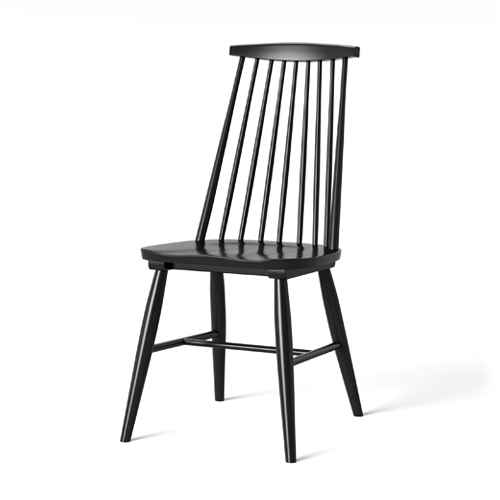 Harwich High Back Windsor Dining Chair Black - Threshold™