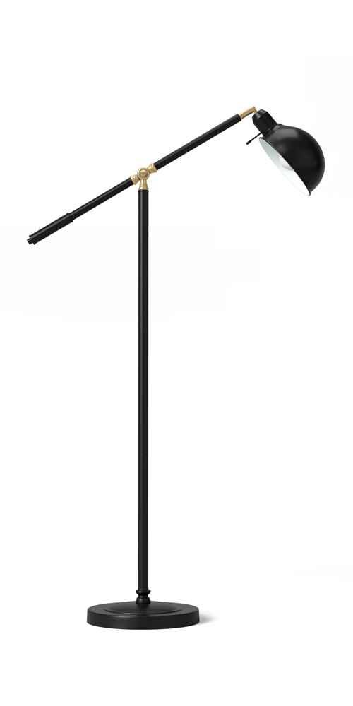 """50"""" Benson Industrial Floor Lamp (Includes LED Light Bulb) - Threshold™"""