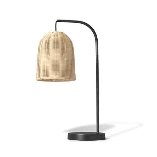 Addison Rattan Table Lamp Brown - Threshold™