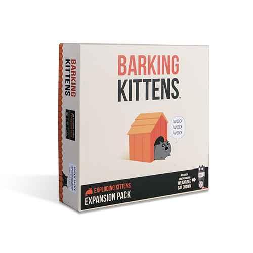 Barking Kittens - Exploding Kittens Expansion Pack
