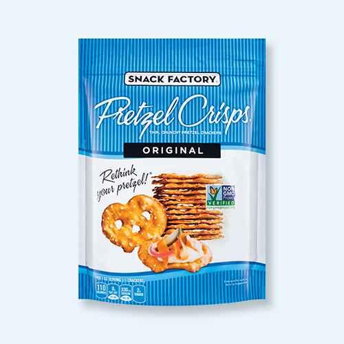 Pretzel Crisps Original Pretzel Crackers - 11.25oz