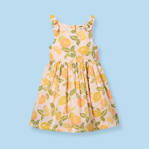 OshKosh B'gosh Toddler Girls' Tank 'Lemon' Dress - Pink 3T
