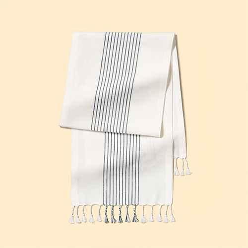 Stripe Runner - Sour Cream / Blue - Hearth & Hand™ with Magnolia
