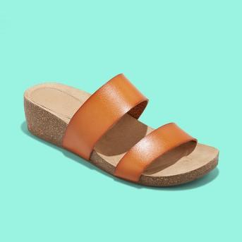 Women's Kerryl Wedge Footbed Slide Sandals - Universal Thread™