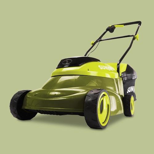 Sun Joe MJ401C-XR Cordless Lawn Mower   14 inch   28V   5 Ah   Brushless Motor