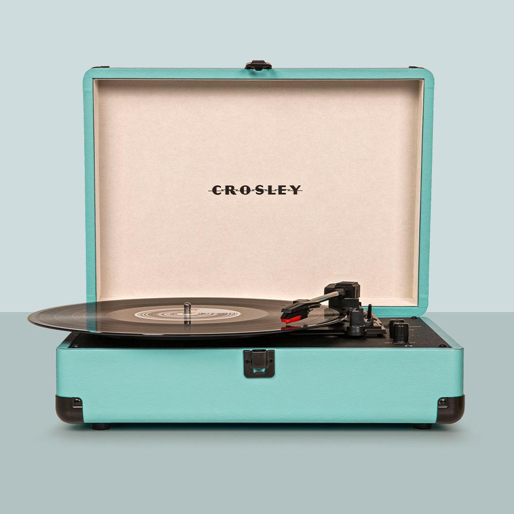 Crosley Journey Turntable - Turquoise