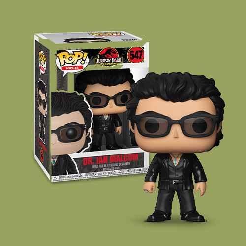 Funko POP! Movies: Jurassic Park 25th Anniversary - Dr. Ian Malcolm - Minifigure