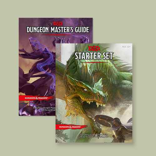 Dungeons & Dragons Dungeon Master's Guide (Core Rulebook, D&d Roleplaying Game) - (Hardcover), Dungeons & Dragons Starter Pack Game