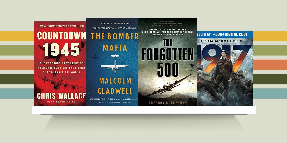 Countdown 1945 - by  Chris Wallace (Hardcover), The Bomber Mafia - by Malcolm Gladwell (Hardcover), The Forgotten 500 - by Gregory A Freeman (Paperback), 1917 (Blu-ray + DVD + Digital)