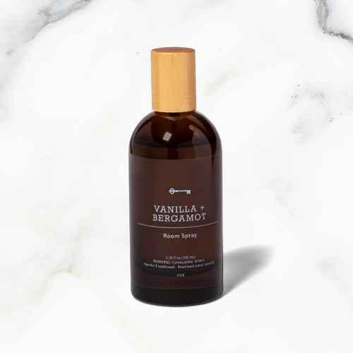 3.38 fl oz Amber Glass Vanilla and Bergamot Room Spray - Threshold™