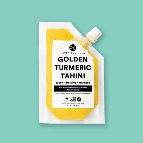 Haven's Kitchen Golden Turmeric Tahini Sauce, Marinade & Dressing - 5oz, Haven's Kitchen Gingery Miso Sauce, Marinade & Dressing - 5oz, Haven's Kitchen Herby Chimichurri Steak Sauce, Marinade & Dressing - 5oz