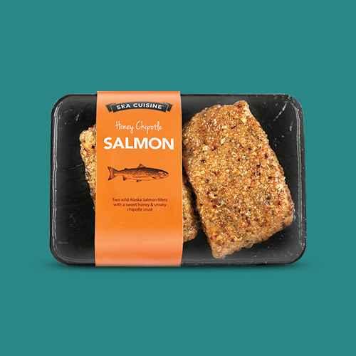 Sea Cuisine Honey Chipotle Salmon - Frozen - 10.5oz, Sea Cuisine Pan Sear Teriyaki Sesame Salmon - Frozen - 9oz, C. Wirthy & Co. Blackened Hand-Seasoned Atlantic Salmon Fillets - Frozen - 10oz, Atlantic Salmon - Frozen - 16oz - Good & Gather™