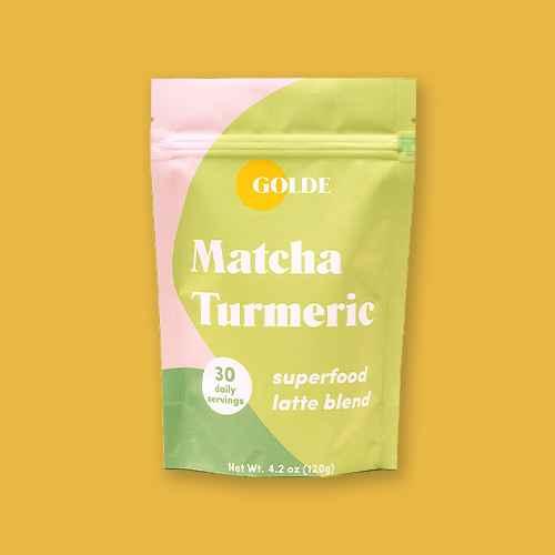 Golde Matcha Turmeric Superfood Latte Blend - 4.2oz, Golde Cacao Turmeric Superfood Latte Blend - 4.2oz, Golde Original Turmeric Superfood Latte Blend - 4.2oz