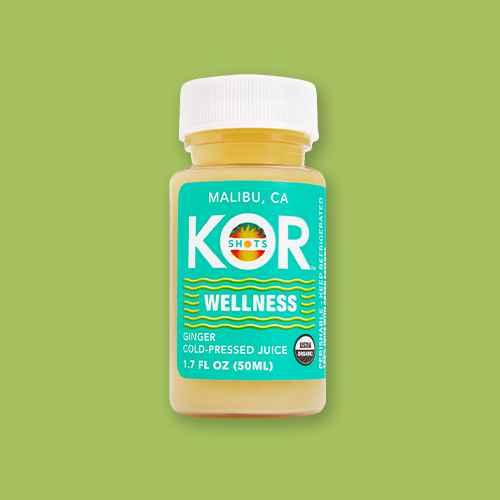 KOR Wellness Ginger Shot - 1.7oz, KOR Potent-C (Vitamin C) Shot - 1.7 fl oz, Vive Organic Immunity Boost Shot - 2 fl oz