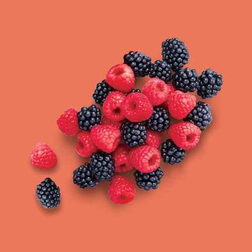 Driscoll's Raspberries - 6oz Package, Blackberries - 6oz Package, Blueberries - 1pt Package, Strawberries - 1lb Package