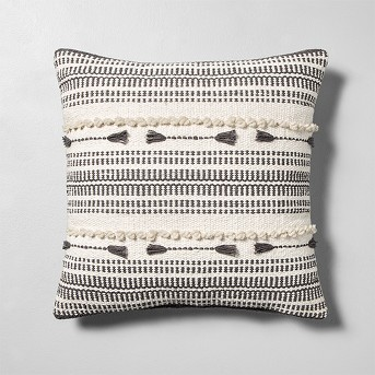 Knotted Throw Pillow Cream / Gray - Hearth & Hand™ with Magnolia