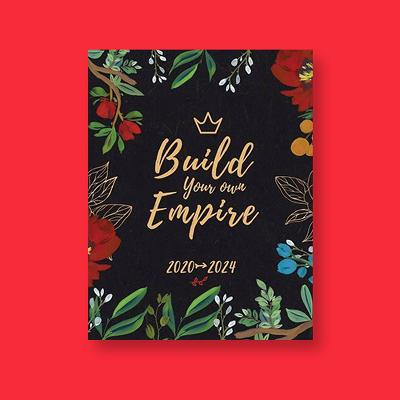 Build Your Own Empire - (2020-2024 Monthly Planner) by  Majestic Notebooks (Paperback)