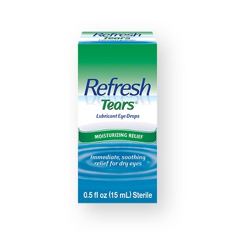 Refresh Tears Moisture Drops for Dry Eyes - 2ct