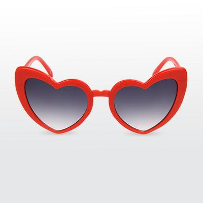 Women's Heart Shaped Sunglasses - Wild Fable™ Red