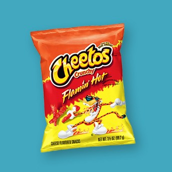 Cheetos Crunchy Flamin' Hot Cheese Flavored Snacks - 3.5oz