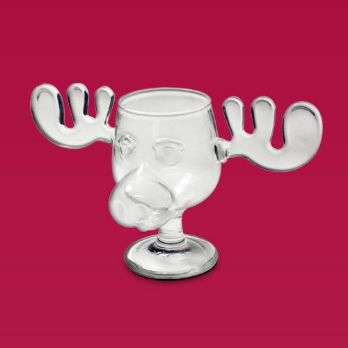 National Lampoon 8oz Glass Classic Moose Mug