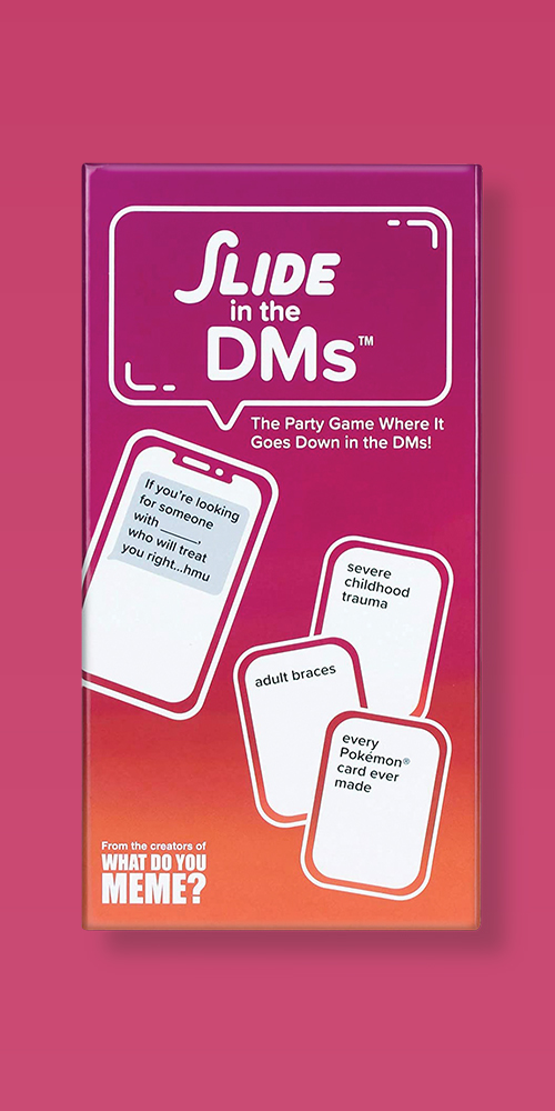 Slide In The DM's Card Game