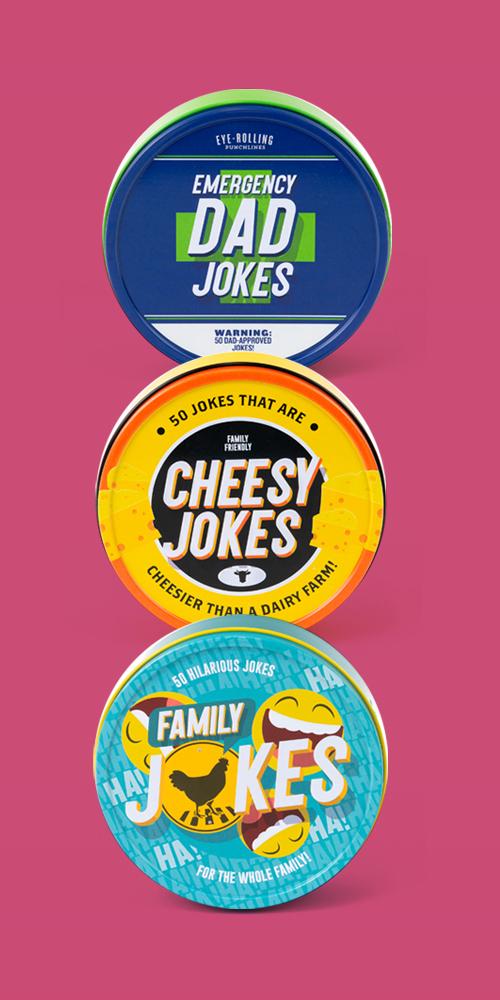 Dad Jokes Game, Cheesy Jokes Game, Family Jokes Game