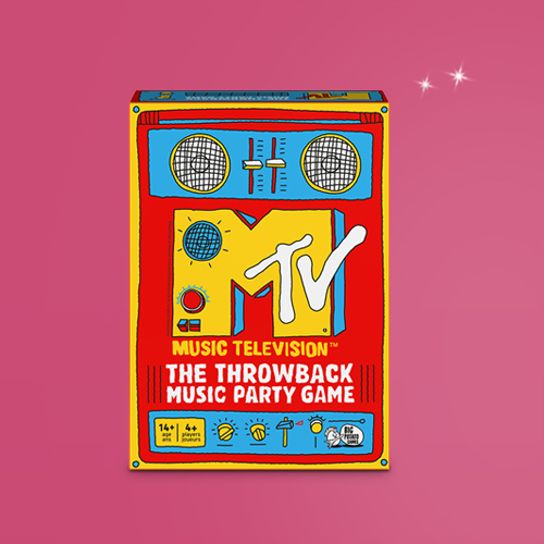 Big Potato MTV The Throwback Music Party Game