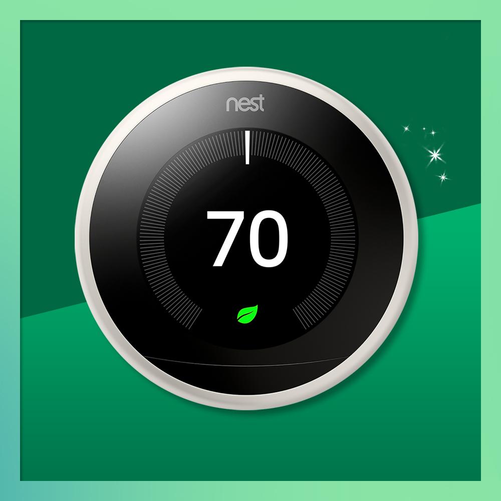 Google Nest Learning Thermostat White