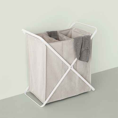Folding X-Frame Hamper - Made By Design™