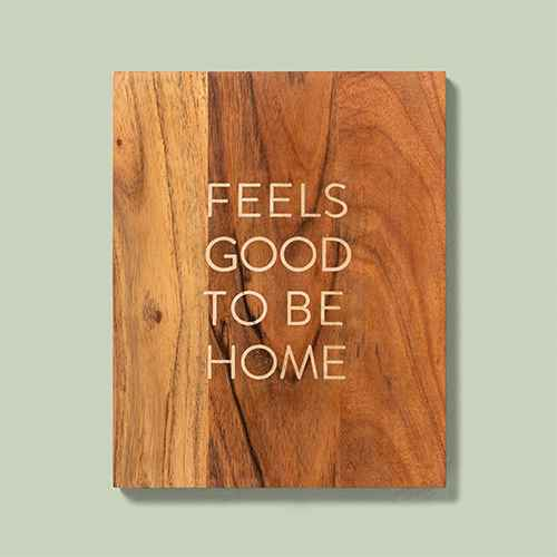 Wood Sign Feels Good To Be Home - Hearth & Hand™ with Magnolia