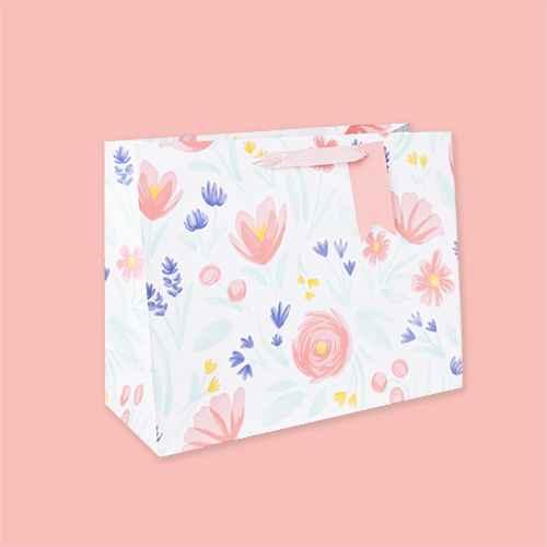 Large Floral Print Vogue Bag - Spritz™