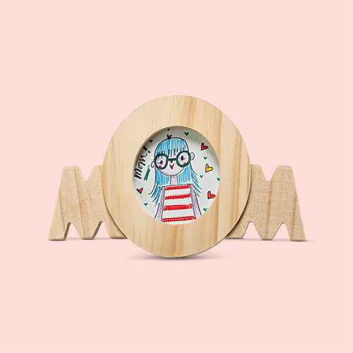 Wooden Mom Picture Frame - Hand Made Modern®