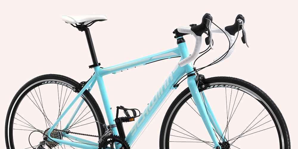 """Schwinn Women's Phocus 1600 700c/28"""" Drop Bar Road Bike - Light Blue"""