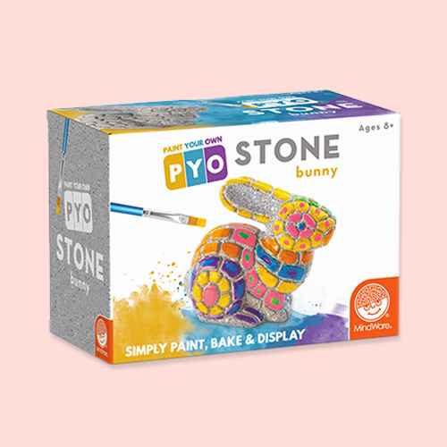 MindWare Paint Your Own Stone Bunny