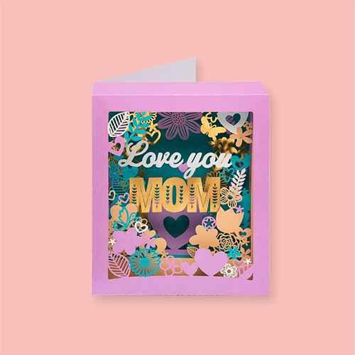 Mother's Day Card Pop-Up Butterflies