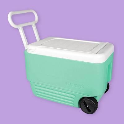 Igloo Wheelie Cool 38qt Cooler - Aqua