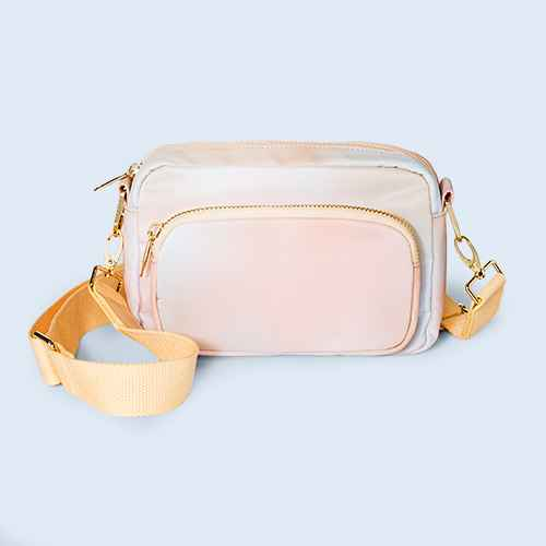 Zip Closure Camera Crossbody Bag - Wild Fable™ Ombre Design
