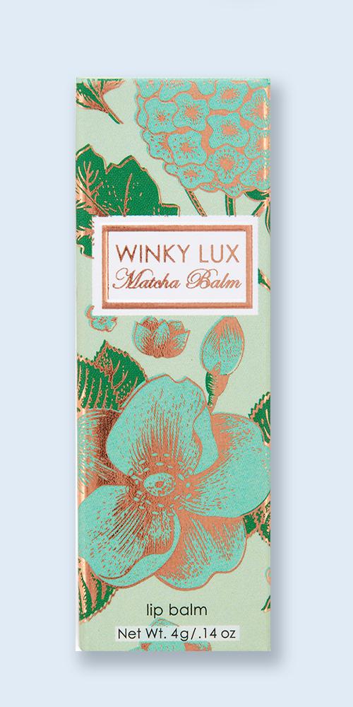 Winky Lux Matcha Lip Balm - 0.14oz