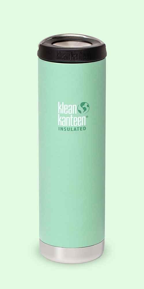 Klean Kanteen 20oz TK Wide with Loop Cap