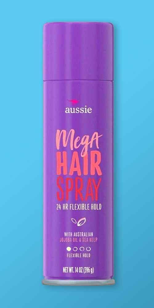 Aussie Mega Hold Hairspray - 14.0oz