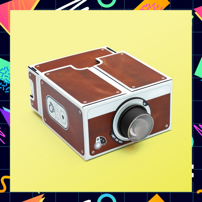 Luckies of London Smartphone Projector - Brown