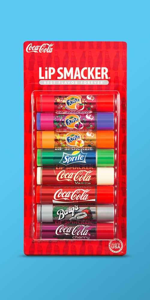 Lip Smackers Lip Balm Coca Cola Party Pack - 8pc/1.12oz